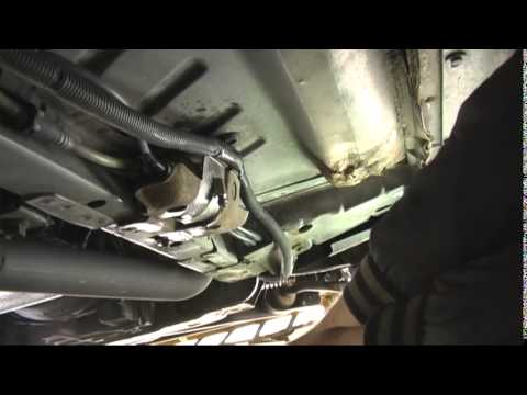 changing a fuel filter thunderbird sc - youtube  youtube