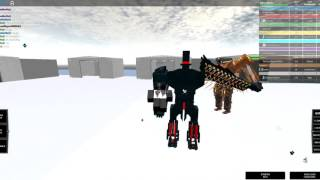 ROBLOX: Build Your Own Mech: 1v1 Tournament