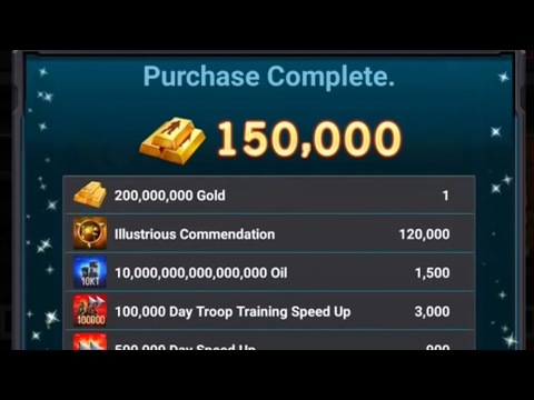Mobile Strike :Lets Buy 300$ Pack And Max Everything , Lets Open Together