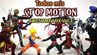 Batalla de Figuras!! Todos mis STOP MOTION 2018 AWESOME MIX Vol. 2 | DibujAme Un Rewind #2