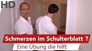 Neben schulterblatt schmerzen VIDEO: Schmerzen