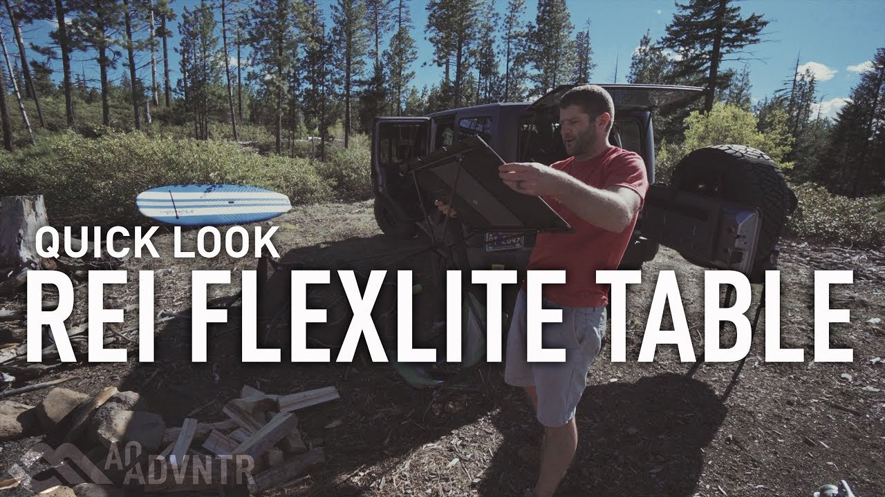 Quick Look REI FlexLite Table