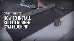 How to Install Rolled Rubber Gym Flooring with Greg Everett