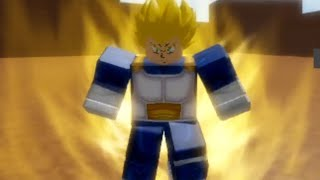 Roblox Dragon Ball Ultimate: Super Vegeta Boss Fight!