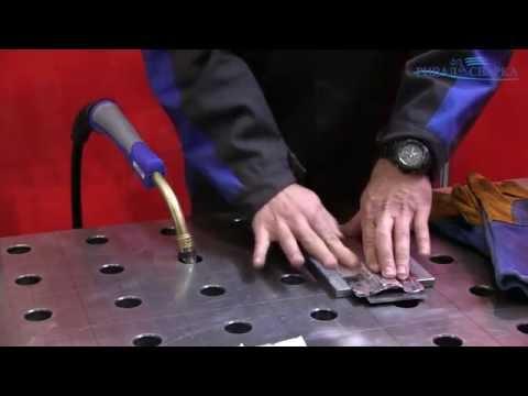 Сварка металла с использованием керамических подкладок MOST