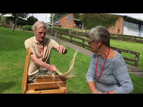 How to Process Raw Flax for Hand Spinning