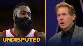Skip and Shannon disagree Harden's reputation was saved in Rockets' Game 4 win | NBA | UNDISPUTED