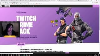 GB GUIDE: How to get Twitch Prime Fortnite skins (also how to unsubscribe from Twitch Prime)