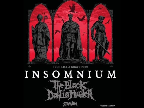 Insomnium announce new album out Oct 4th + Euro tour with The Black Dahlia Murder!