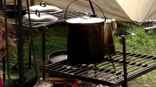 Civil War Campfire: Camping & Cooking