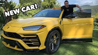 TAKING DELIVERY OF A NEW LAMBORGHINI URUS!!