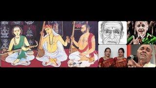 Palakkad Sri Sajiv participates on Guru Sishya Parampara Music Hangout