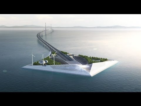 Shenzhen-Zhongshan Bridge Animation深中通道动画演示