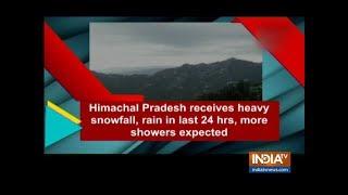 Himachal Pradesh receives heavy snowfall | Watch