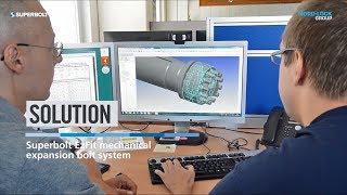 Installation of Superbolt EzFit Expansion Sleeve Coupling Bolt