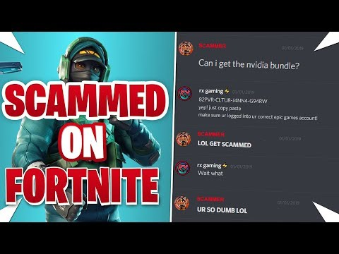 How I Got Scammed On Fortnite... (Nvidia Counterattack Bundle)