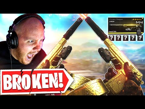THESE *NEW* SYKOV PISTOLS ARE THE MOST OVERPOWERED WEAPON IN WARZONE...