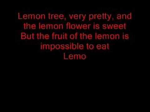 Trini Lopez - Lemon Tree with lyrics