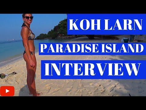 Koh Larn Thailand🇹🇭 (Paradise Island) 🇹🇭Inteview Coral Island Pattaya