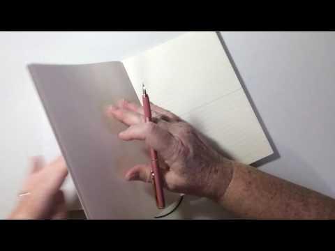 Pen & notebook review: 2 fountain pens, Kentaur CF, and a Erofa Fuliwen, also a Madori A5 notebook.