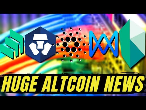 HUGE CRYPTO NEWS! Cardano ADA Staking, QuarkChain QKC, Crypto.com Kyber Network KNC Syndicate