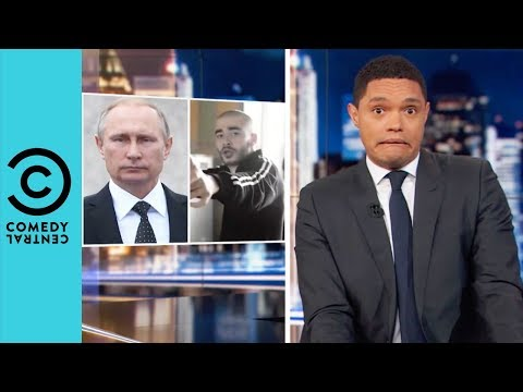 Vladimir Putin's Cracking Down on Rap | The Daily Show With
