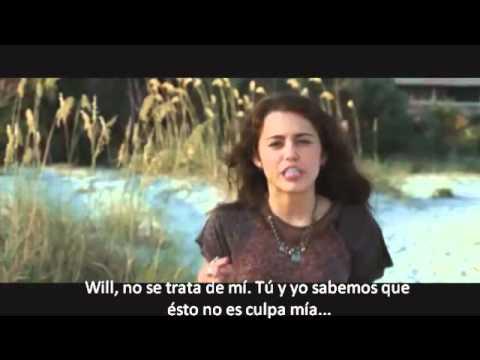 Primer beso Miley & Liam the last song, subtitulado