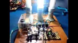 mengontrol lampu tanpa kabel dengan frekuensi suara.. mudah.