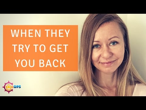 When the Narcissist Hoovers To Get You Back - YouTube