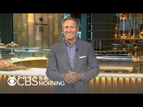 Starbucks' Howard Schultz says 'perhaps' he'll run for public office