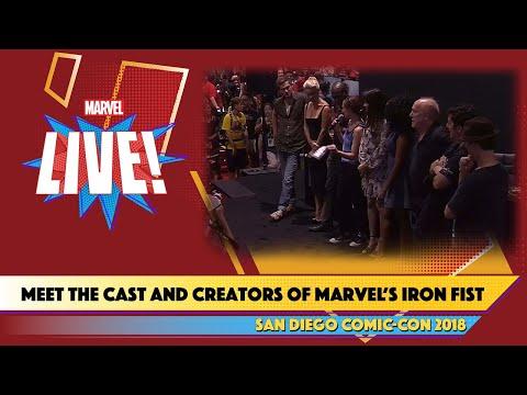 Meet the Cast of Marvels Iron Fist atSDCC 2018