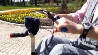 видео велосипед городской женский