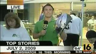 HKQ Kids July Fourth 2009 Bike Helmet Giveaway - WNEP-TV News Coverage