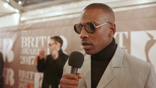 Skepta discusses his collaboration with The 1975 at the Brit Awards 2017