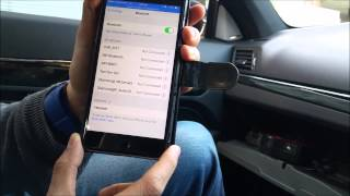 How to play music from Iphone 6 via bluetooth (wireless) in a Mercedes Benz Tune2air WMA3000a