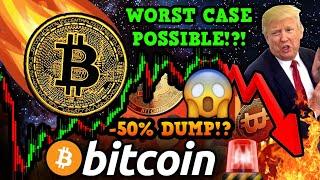 BITCOIN WORST CASE SCENARIO!!! TRUMP HIRES BTC BULL as BANKING REGULATOR!!