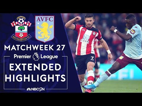Southampton v. Aston Villa  PREMIER LEAGUE HIGHLIGHTS  2222020  NBC Sports