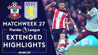 Southampton v. Aston Villa | PREMIER LEAGUE HIGHLIGHTS | 2/22/2020 | NBC Sports
