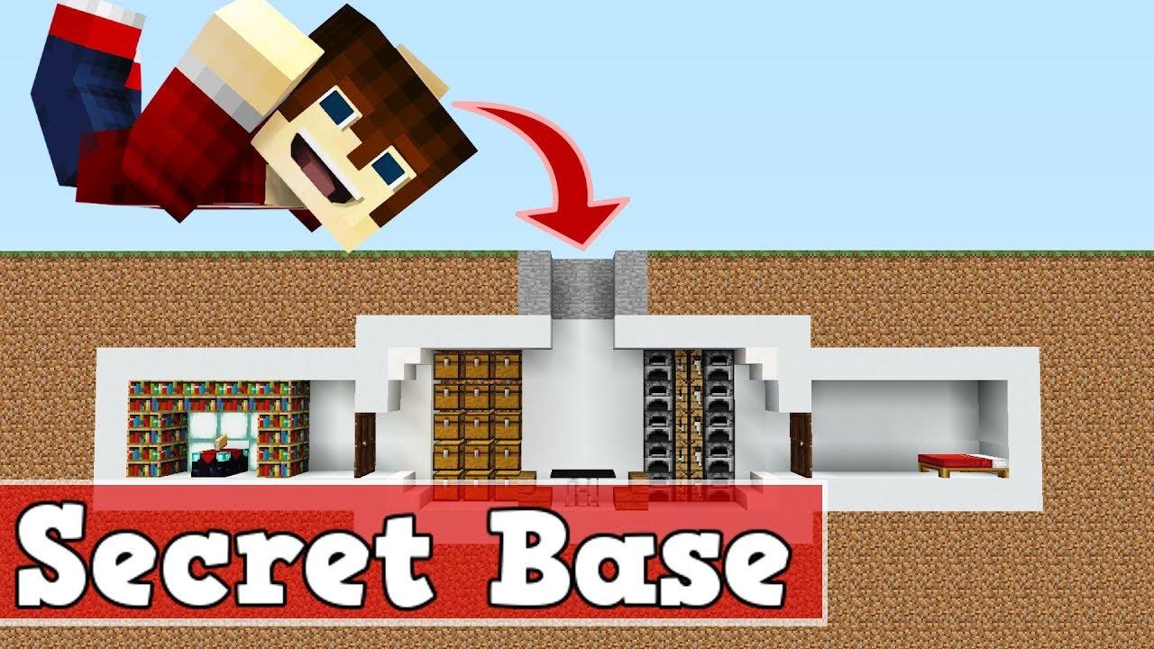 wie baut man eine moderne geheime basis in minecraft | minecraft