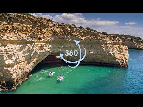 360º Video 4K - Algar de Benagil - Secret Caves | Gruta de Benagil