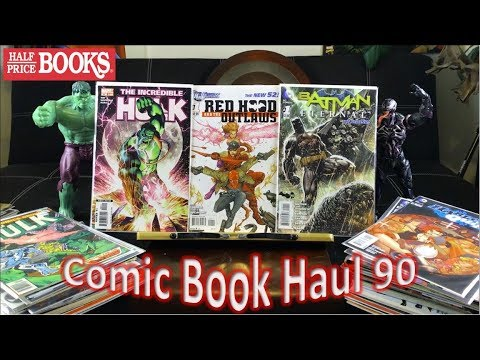 Half Price Books Comic Book Haul 90 | Complaining To HPB About Price Stickers