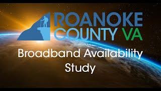 Roanoke County Broadband Availability Study