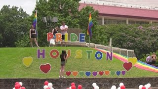 People from around the world visit for Houston Pride weekend