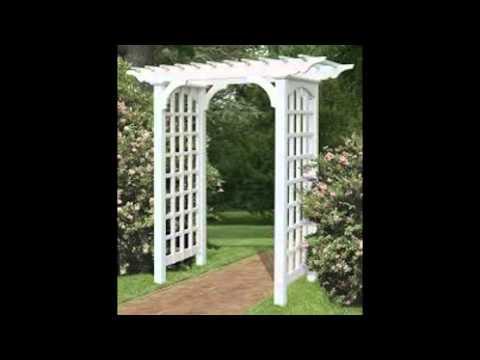 Garden Arbor Ideas YouTube