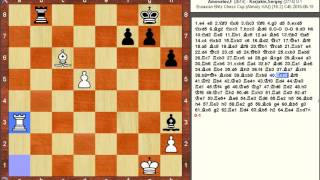 Chess Game: Farrukh Amonatov (TJK) vs Sergey Karjakin (RUS)