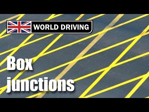 I've stopped in a box junction! Driving lesson