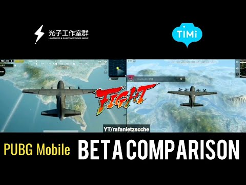 Pubg Mobile Beta Timi Vs Lightspeed Which One You Prefer Youtube