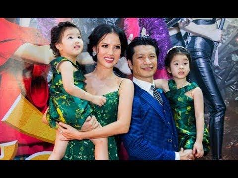Vợ chồng Dustin Nguyễn hiếm hoi đưa cả hai con gái đi sự kiện(Tin tức Sao Việt)