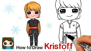 How to Draw Kristoff | Disney Frozen 2