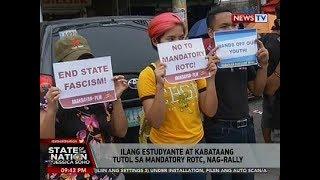 Download Video SONA: Ilang estudyante at kabataang tutol sa mandatory ROTC, nag-rally MP3 3GP MP4